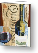 Trumpet Glass Greeting Cards - Quintessa Greeting Card by Christopher Mize
