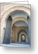 Rabat Greeting Cards - Rabat Interior Greeting Card by Kathy Dahmen