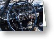 Dash Greeting Cards - Race Ready Greeting Card by Peter Chilelli