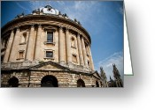 Steven Gray Greeting Cards - Radcliffe Camera Greeting Card by Steven Gray