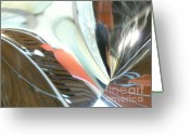 Radial Design Greeting Cards - Radial Reflection 2 Greeting Card by Donna McLarty