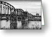 Louisiana Greeting Cards - Railroad Bridge Greeting Card by Scott Pellegrin