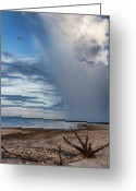 Rain Cloud Greeting Cards - Rain Relief V2 Greeting Card by Douglas Barnard