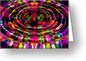 Puddle Greeting Cards - Rainbow River Greeting Card by Robert Orinski