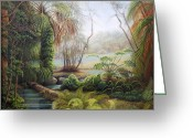 Ruth Gee Greeting Cards - Rainbow Springs Greeting Card by Ruth Gee