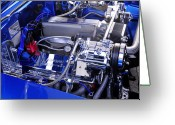 Big Block Chevy Greeting Cards - Ram Jet Greeting Card by David Lee Thompson