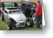 Desert Rat Photo Greeting Cards - Rat Rod Many Parts Greeting Card by Kym Backland