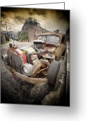 Street Rod Photo Greeting Cards - Rattus.... Greeting Card by Russell Styles