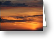 Yellows Greeting Cards - Reach for the Sky 10 Greeting Card by Mike McGlothlen