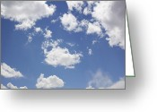 Puffy Greeting Cards - Reach for the Sky Greeting Card by Mike McGlothlen