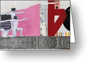 Nude Mixed Media Greeting Cards - Ready Aim Fire Greeting Card by Michel  Keck