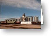 Great Plains Greeting Cards - Ready to Go Greeting Card by Noel Zia Lee