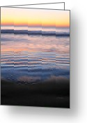 Wrightsville Greeting Cards - Receding  Greeting Card by JC Findley