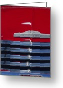 Pickup Painting Greeting Cards - Red 53 Greeting Card by Jack Atkins