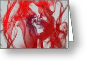 Bruster Greeting Cards - Red Alert Greeting Card by Clayton Bruster