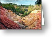 Tamyra Ayles Greeting Cards - Red Bluff Greeting Card by Tamyra Ayles