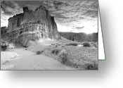 Mojave Greeting Cards - Red Rock Canyon State Park Greeting Card by David Kiene