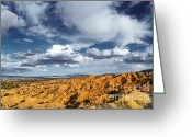 Storm Prints Greeting Cards - Red Rock Glory Greeting Card by Andrea Hazel Ihlefeld