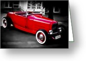 D700 Greeting Cards - Red Rod Greeting Card by Phil