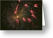 4th July Greeting Cards - Red Tails Greeting Card by Peter Tellone