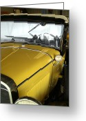Model A Greeting Cards - Reflection of the Past Greeting Card by Bill Gallagher