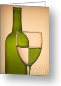 Cantina Greeting Cards - Reflections and Refractions Greeting Card by Susan Candelario