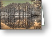 Missouri Photographer Greeting Cards - Reflections Greeting Card by Jane Linders