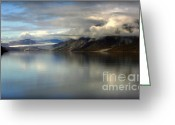 Still Water Greeting Cards - Reflections of Stillness Greeting Card by Karen Wiles