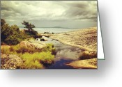 Picoftheday Greeting Cards - Reflections On Champlain Mt. #maine Greeting Card by Luke Kingma