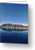 Clear Photo Greeting Cards - Reflections On Lake Hawea Greeting Card by Verity E. Milligan