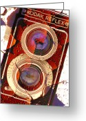 Colors Greeting Cards - Reflex II Greeting Card by Mike McGlothlen
