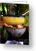 Mango Digital Art Greeting Cards - Refreshing Greeting Card by Julie Palencia