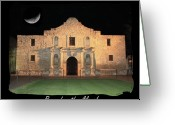 Alamo Greeting Cards - Remember the Alamo Greeting Card by Carol Groenen