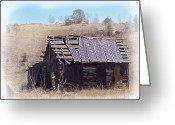 Sheds Greeting Cards - Remember When Greeting Card by Ernie Echols