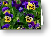 Tiny Flowers Greeting Cards - Remembering Grandma Greeting Card by Karen Wiles