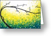 Lafferty Sculpture Greeting Cards - Remembering Spring Greeting Card by Daniel Lafferty
