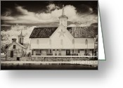 Pa Barns Greeting Cards - Remembering the days of old Greeting Card by Paul W Faust -  Impressions of Light