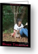 Autographed Art Greeting Cards - Renee Trenholm . SIGNED Greeting Card by Renee Trenholm