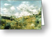 Pierre Renoir Greeting Cards - Renoir: Coup De Vent Greeting Card by Granger