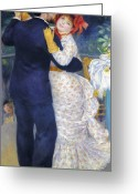 Pierre Renoir Greeting Cards - Renoir: Dancing, 1883 Greeting Card by Granger
