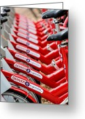 Depth Of Field Greeting Cards - Repetition and Cycle Greeting Card by Joshua Ball