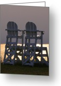 Beach Photographs Greeting Cards - Retirement  Greeting Card by Christopher  Ward