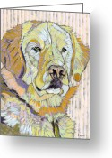 David Kent Collections Greeting Cards - Retrieving Winter Greeting Card by David  Hearn