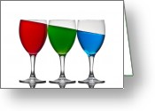 Alcoholic Greeting Cards - Rgb Greeting Card by Gert Lavsen