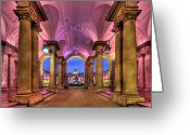 Passage Greeting Cards - Rhapsody in Pink Greeting Card by Evelina Kremsdorf