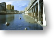 Arquitectura Greeting Cards - Ria de Bilbao Greeting Card by Fernando Alvarez