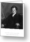 Autograph Greeting Cards - Richard Bright (1789-1858) Greeting Card by Granger