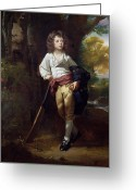 Posh Painting Greeting Cards - Richard Heber Greeting Card by John Singleton Copley