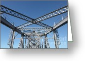 San Rafael Bridge Greeting Cards - Richmond-San Rafael Bridge in California - 5D19548 Greeting Card by Wingsdomain Art and Photography