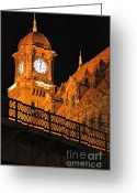 Richmond Greeting Cards - Richmond Train Station Greeting Card by Sean Cupp